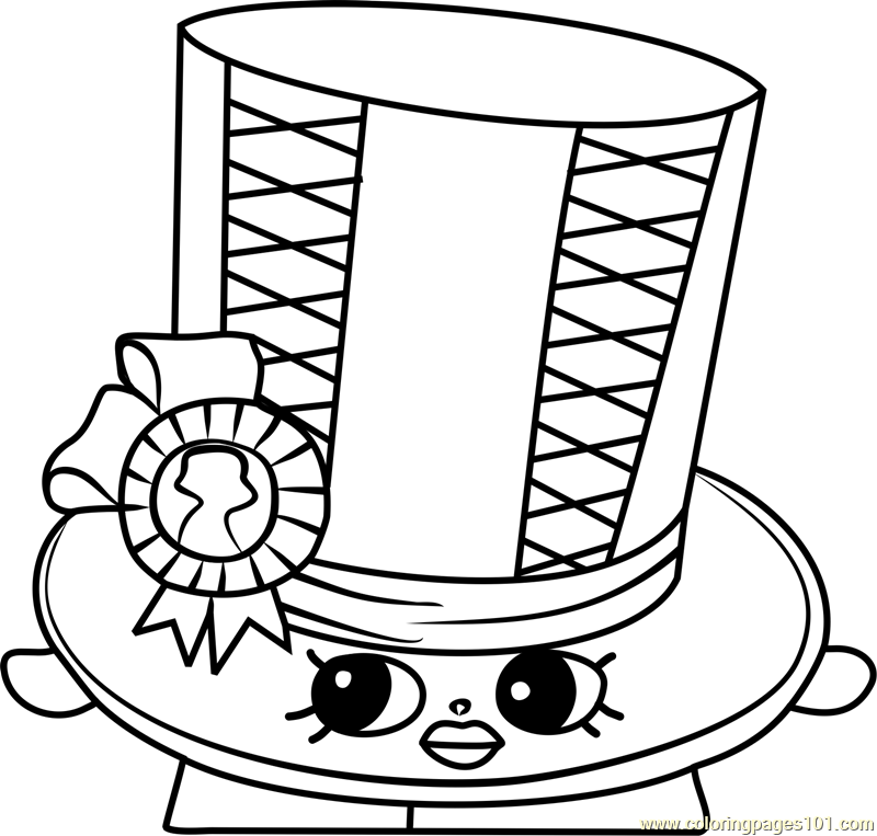 toni topper shopkins coloring page