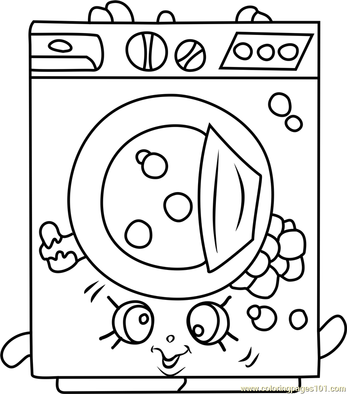 Washa Shopkins Coloring Page Free Shopkins Coloring Pages