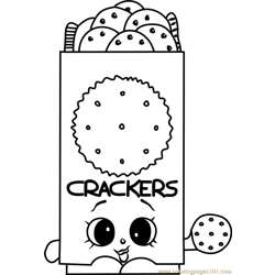 Chris P Crackers Shopkins