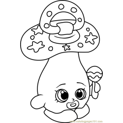 More Shopkins Coloring Pages Dum Mee