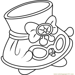 Shady Shopkins Free Coloring Page for Kids