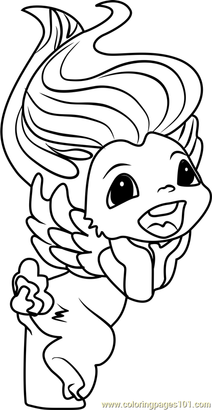 Billy Zelf Coloring Page