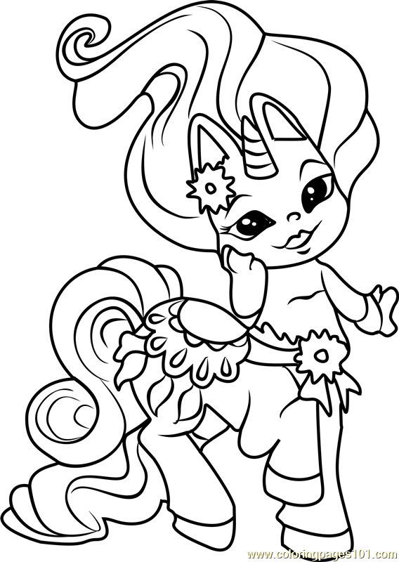 Mary GoRound Zelf Coloring Page Free The Zelfs Coloring