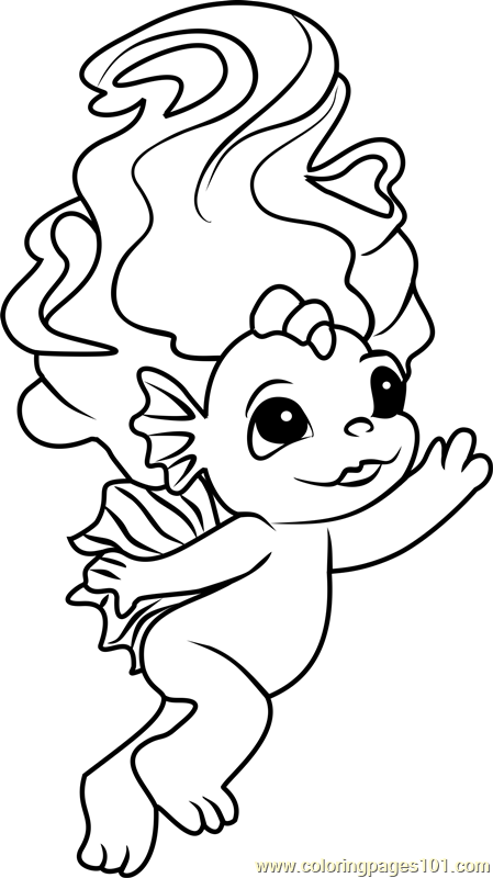 Sealia Zelf Coloring Page