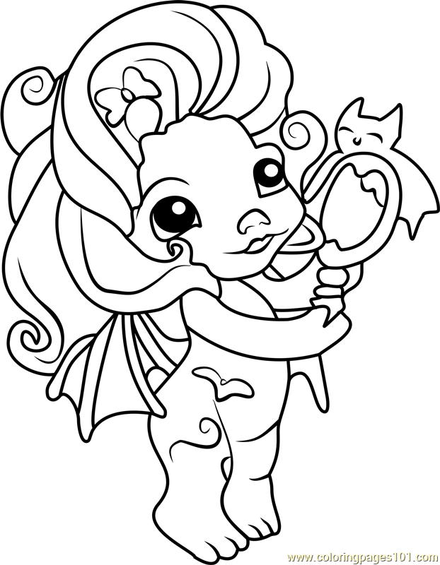 zelfs coloring pages | Vampula Zelf Coloring Page - Free The Zelfs Coloring Pages ...