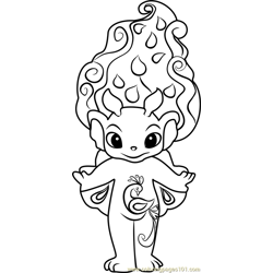 Royal-P Zelf Free Coloring Page for Kids