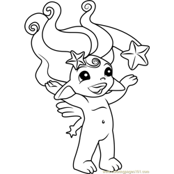Stardust Zelf coloring page