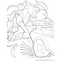 Transformers (029) Free Coloring Page for Kids