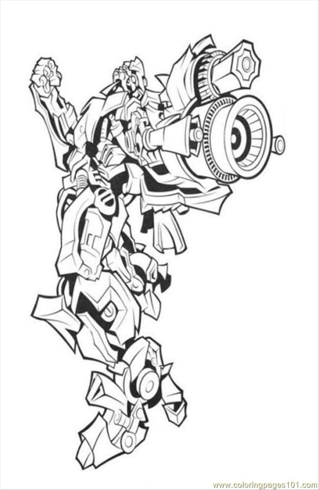 Transformers128 Coloring Page Free Transformers Coloring
