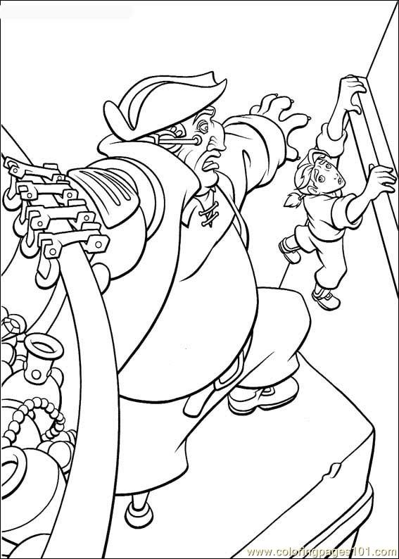 Treasureplanet29 Coloring Page