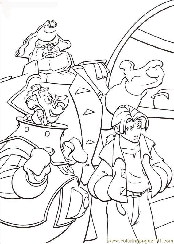 Treasureplanet43 Coloring Page