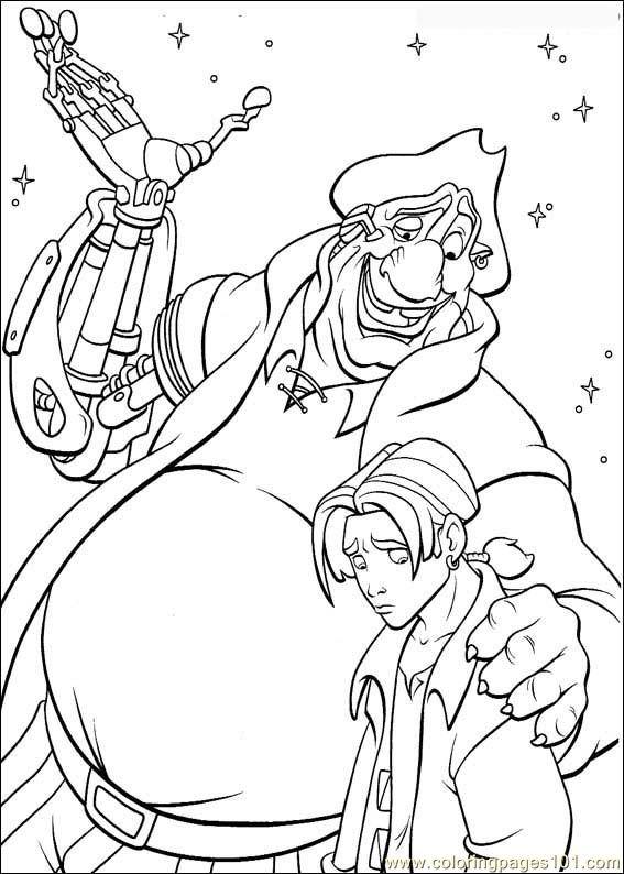 Treasureplanet51 Coloring Page