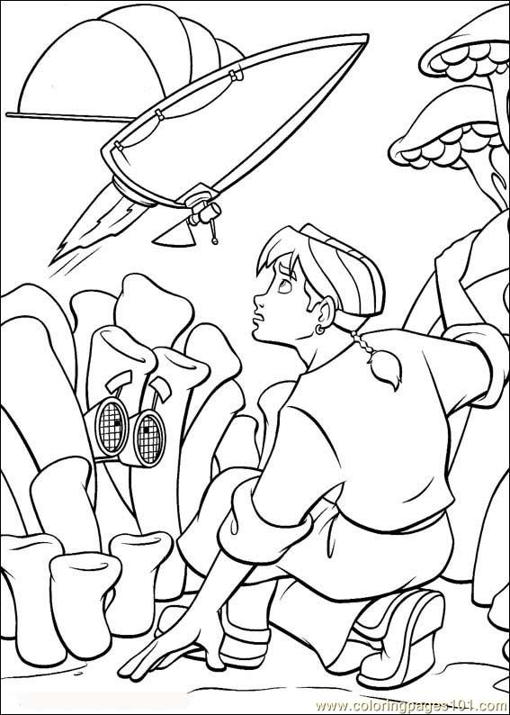 Treasureplanet62 Coloring Page