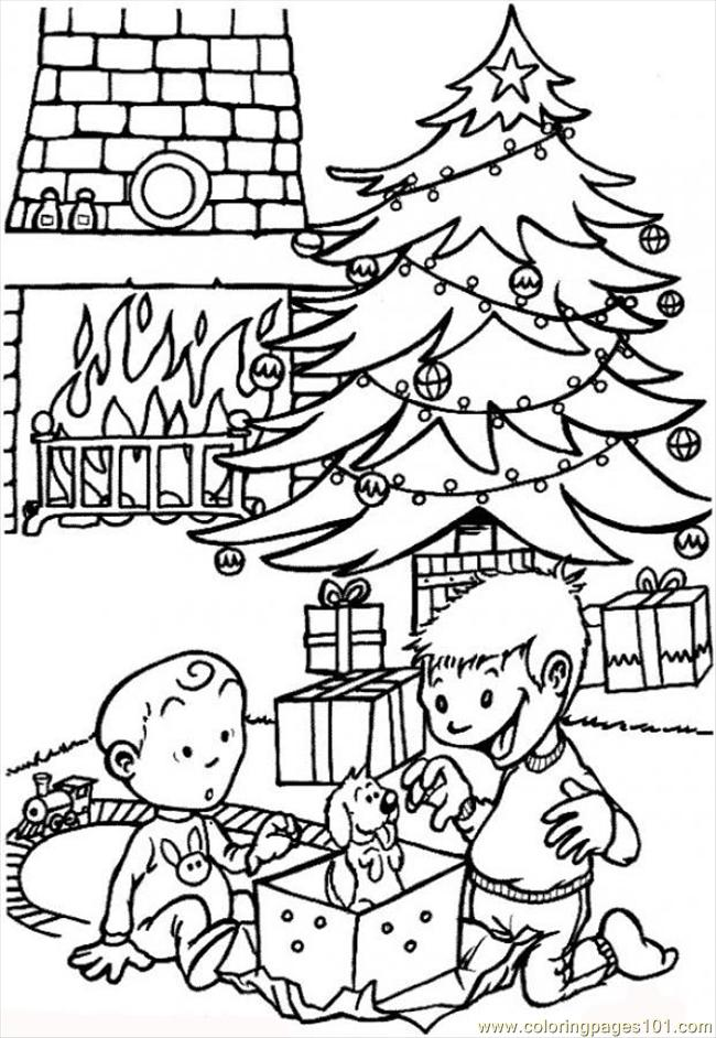 Christmas Presents Source S2r Coloring Page
