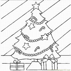 Mas Tree Coloring Pages 2 Lrg