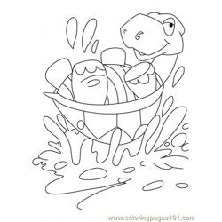 Tortoise Coloring Page3