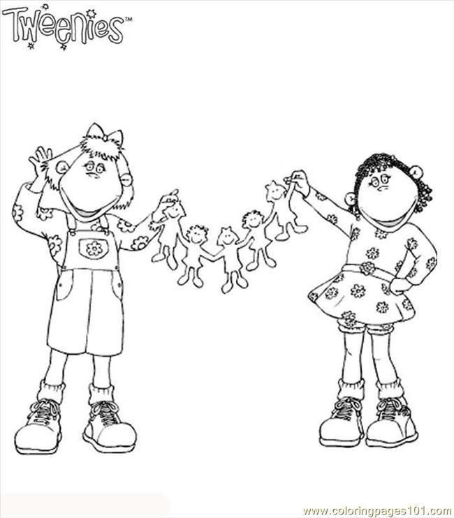 tweenies 10 coloring page