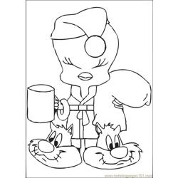 Tweety 07 coloring page