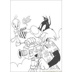 Tweety 13 coloring page