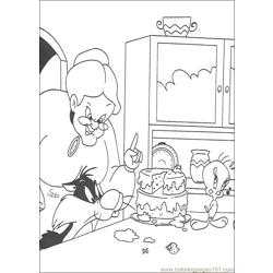 Tweety 14 coloring page
