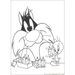 Tweety 19 coloring page