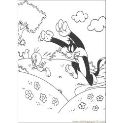 Tweety 21 coloring page