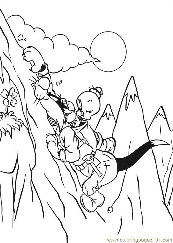 Tweety 35 Coloring Page