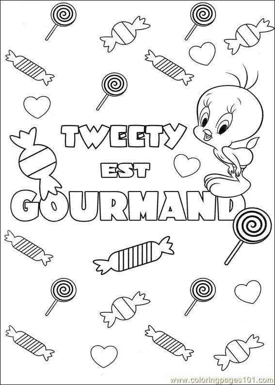 Tweety 55 Coloring Page