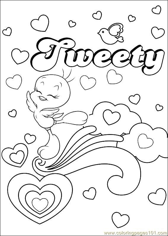 Tweety 56 Coloring Page