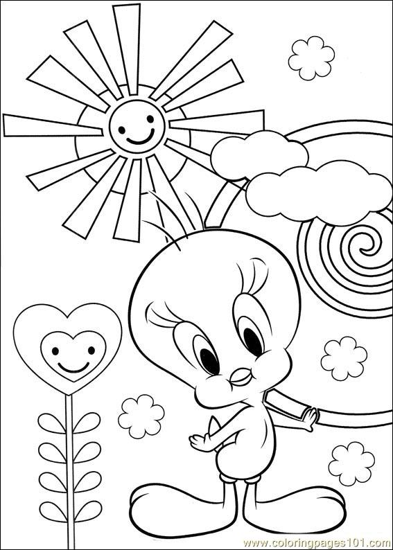 Tweety 58 Coloring Page