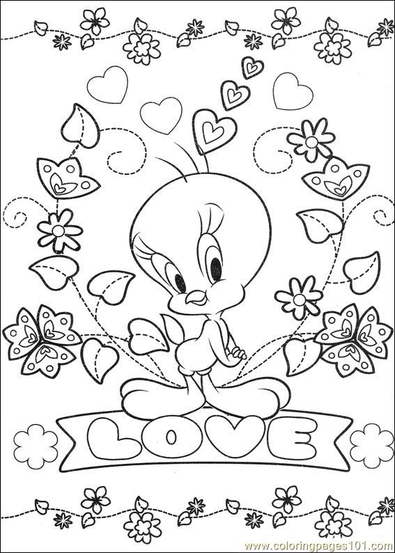 Tweety 65 Coloring Page