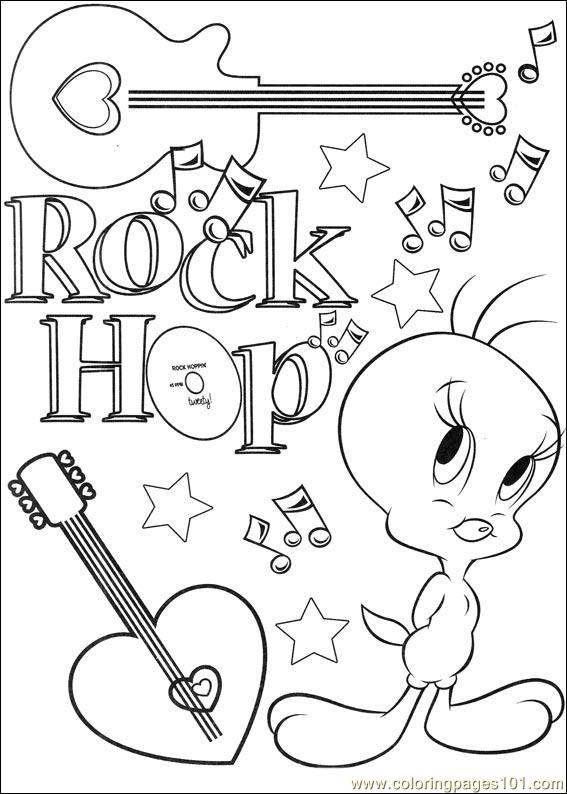 Tweety 66 Coloring Page