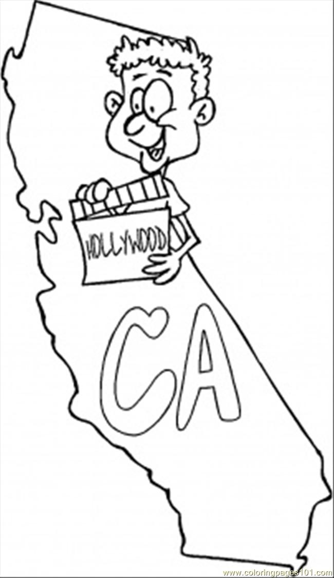 california redwood coloring pages - photo#16