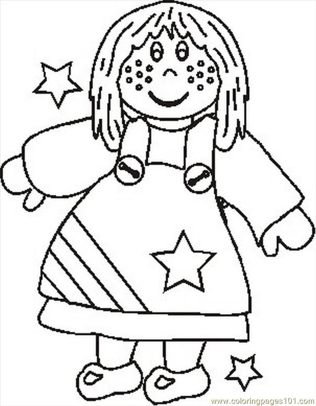 Americanagirlbw Coloring Page