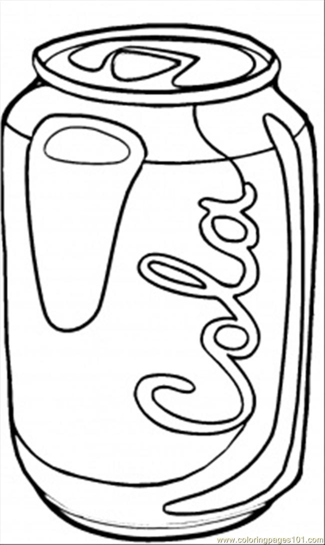 Coke Coloring Page Free Usa Coloring Pages