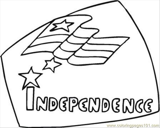 Ependence Day 7 Coloring Page Coloring Page
