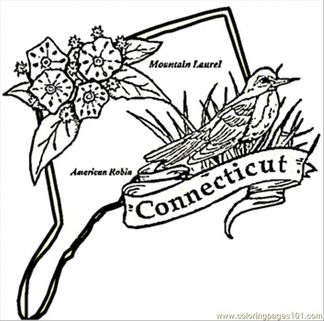 coloring pages of connecticut - photo#25