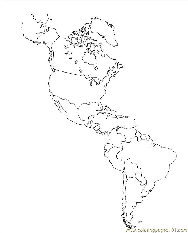 Th America Map Coloring Page - Free USA Coloring Pages ...