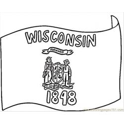 Wisconsin Flag Of 1848