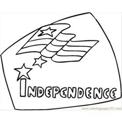 Ependence Day 7 Coloring Page