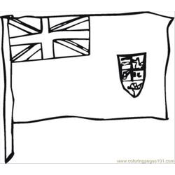 Flag Day 3 Coloring Page