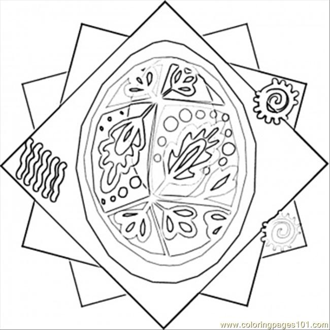 Easter ukrainian painted eggs coloring page free ukraine for Ukrainian easter egg coloring pages