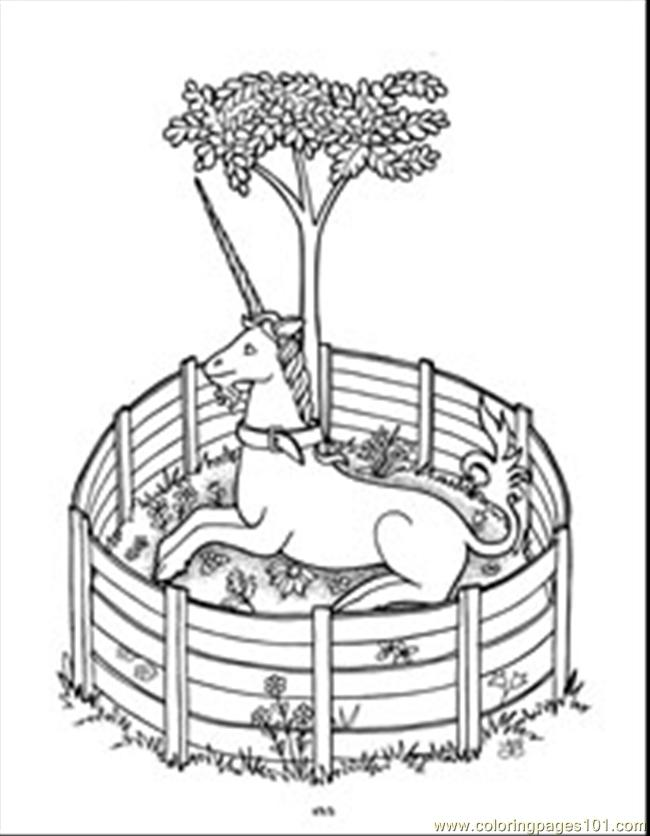 Unicorn37 Coloring Page