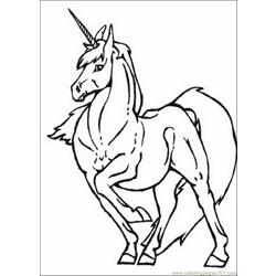 Unicorns 26 coloring page