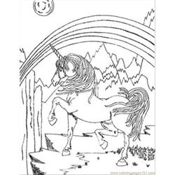 Unicorn Sentr Free Coloring Page for Kids