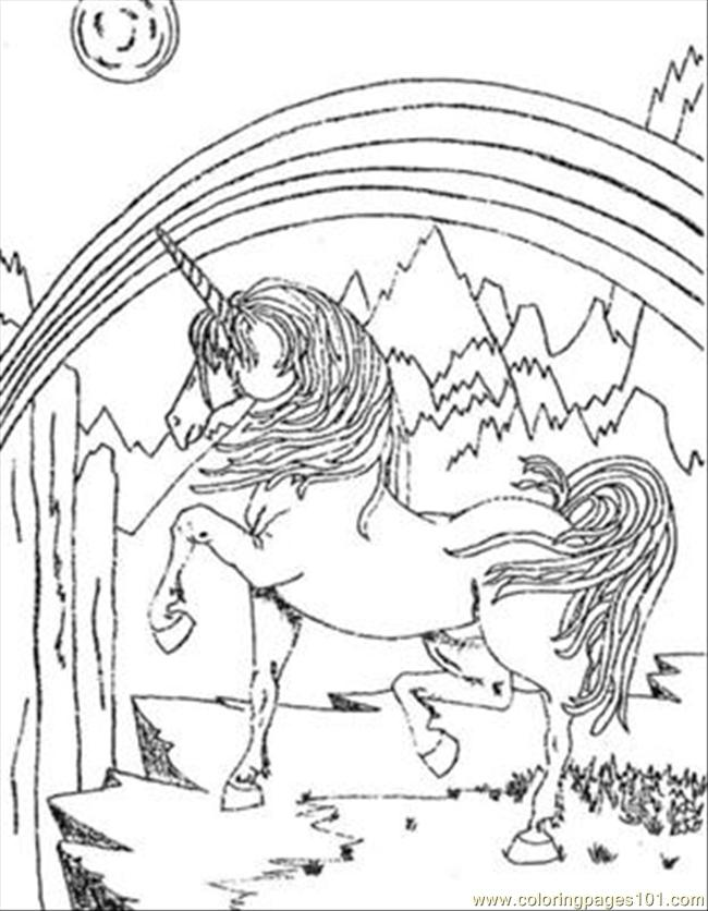 Unicorn Sentr printable coloring page for kids and adults