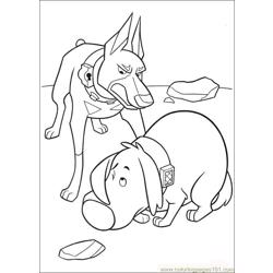 Up 40 coloring page
