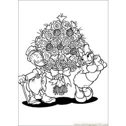 Valentines Day 05 coloring page