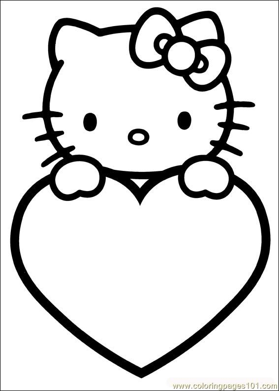 Valentines Day 09 Coloring Page