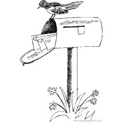 Mailbox With Valentines 1